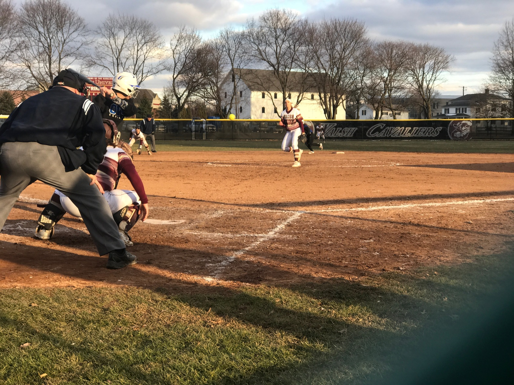 Walsh Sweeps GMAC Opener