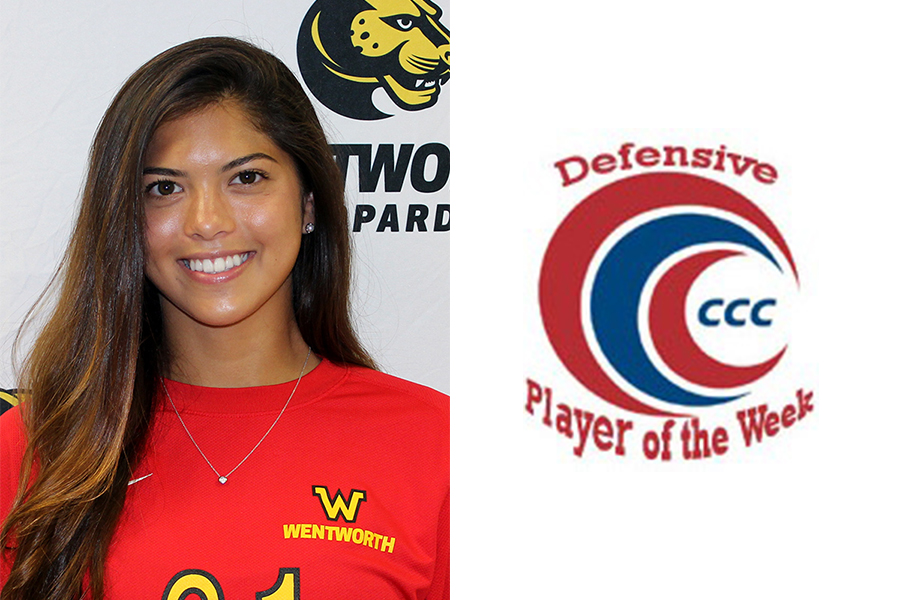 Robinson Named CCC Defensive Player of the Week