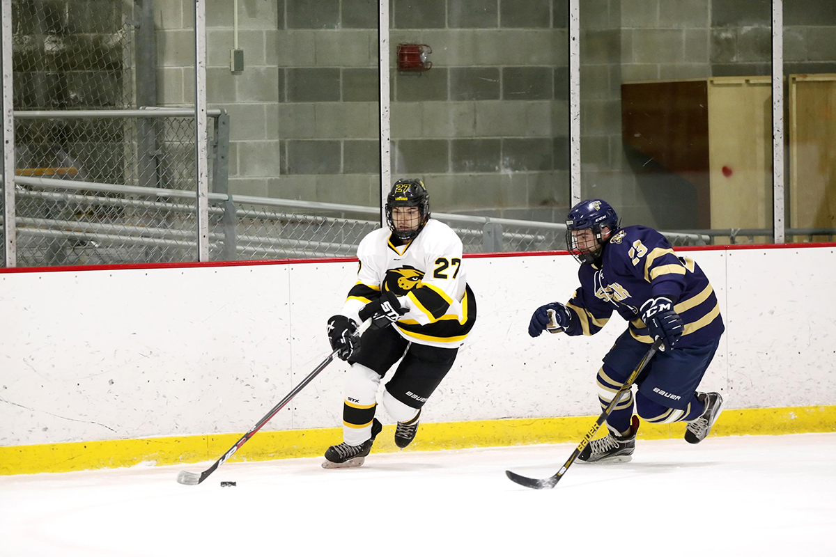 Rookies Help Hockey Edge Saint Anselm