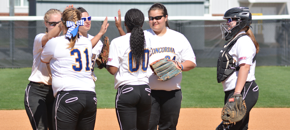 Softball Upended at Wilmington (Del.) in CACC Doubleheader