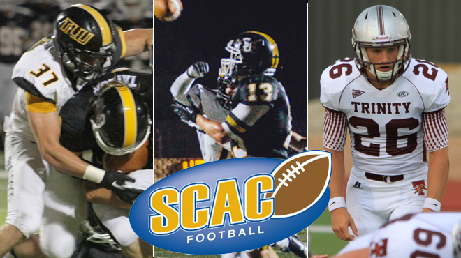 Southwestern's Shea, TLU's Powell, and Trinity's Kennemer Named SCAC Football Players-of-the-Week