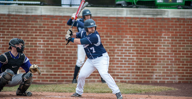 Roethke Joins 100-Hit Club But Hounds Fall at Hampden-Sydney