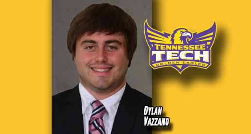 Dylan Vazzano joins Golden Eagle sports information staff