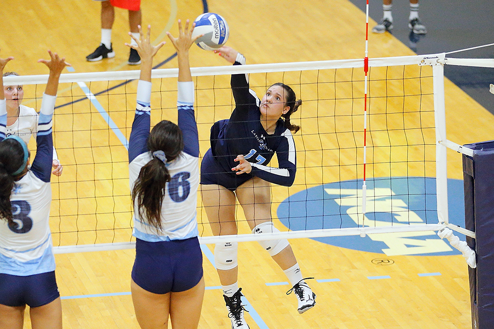 WVB: Lasell posts first win and finishes with split at Keuka Invitational