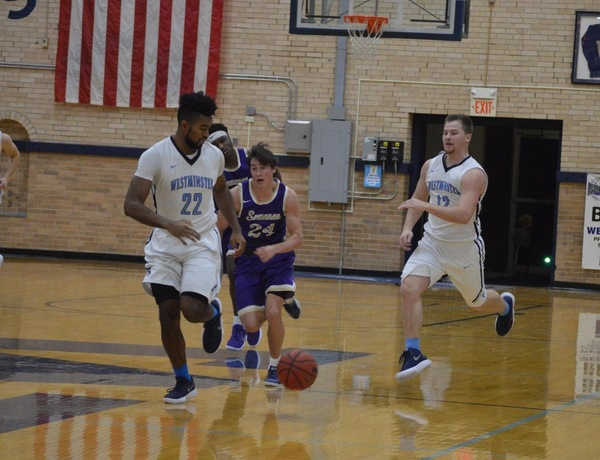 Five in Double Figures for Westminster Men's Basketball