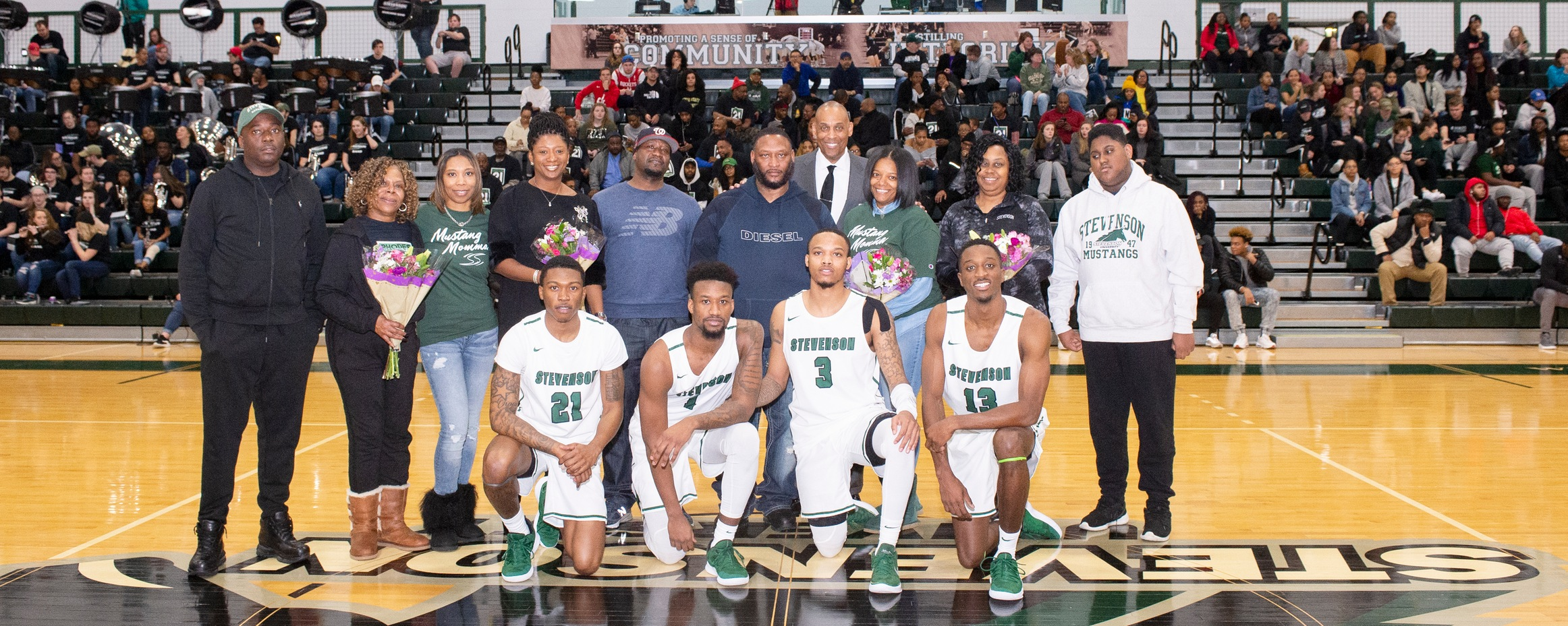 Early Second-Half Barrage Moves Hood Past Mustangs on Senior Night