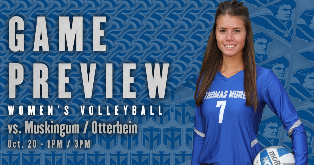 Women's Volleyball Takes on Muskingum and Otterbein Today