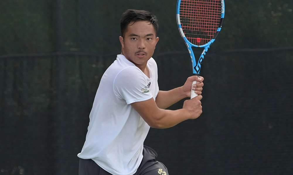MEN'S TENNIS CONCLUDES HOMESTAND WITH 4-3 WIN OVER PORTLAND