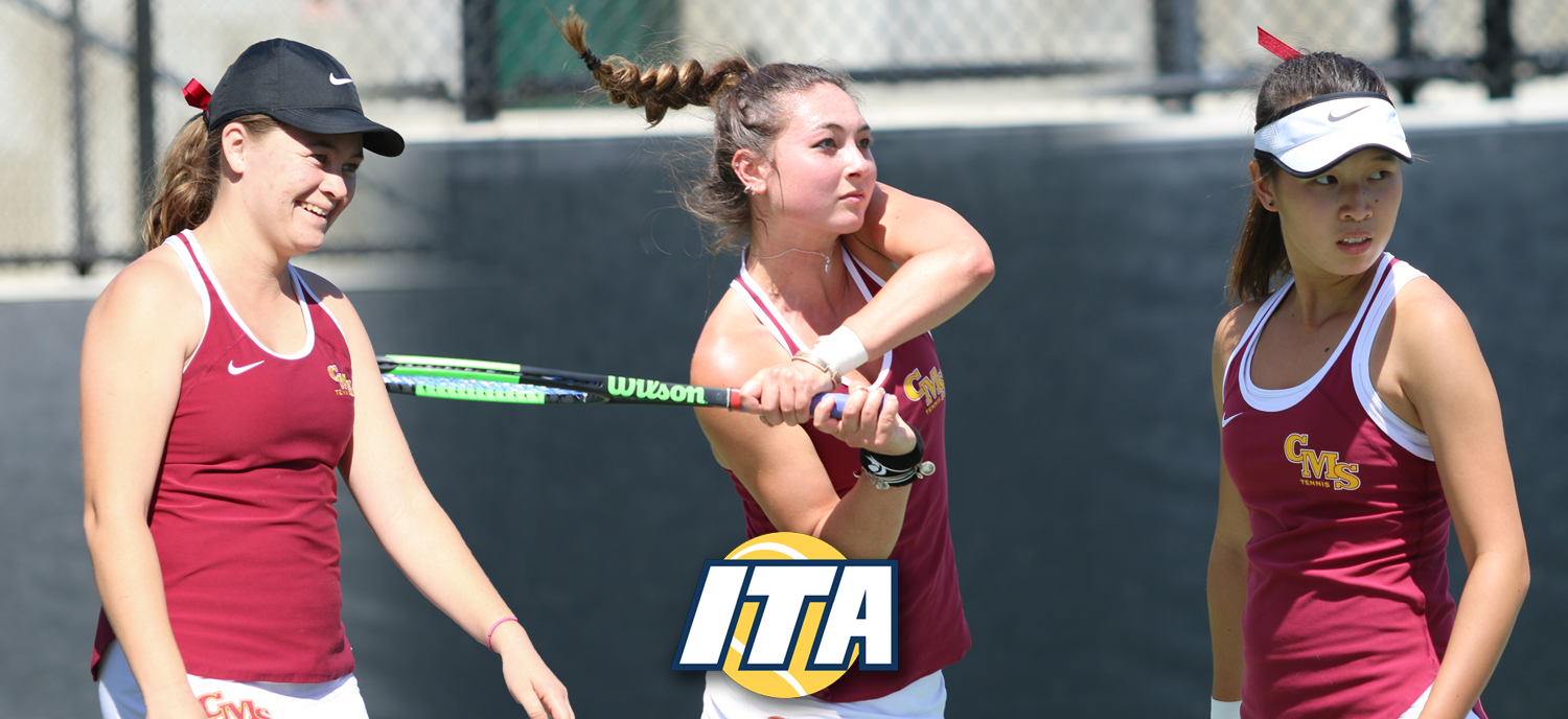 L to R: Brown, Allen, Tan earned All-America honors from the ITA.