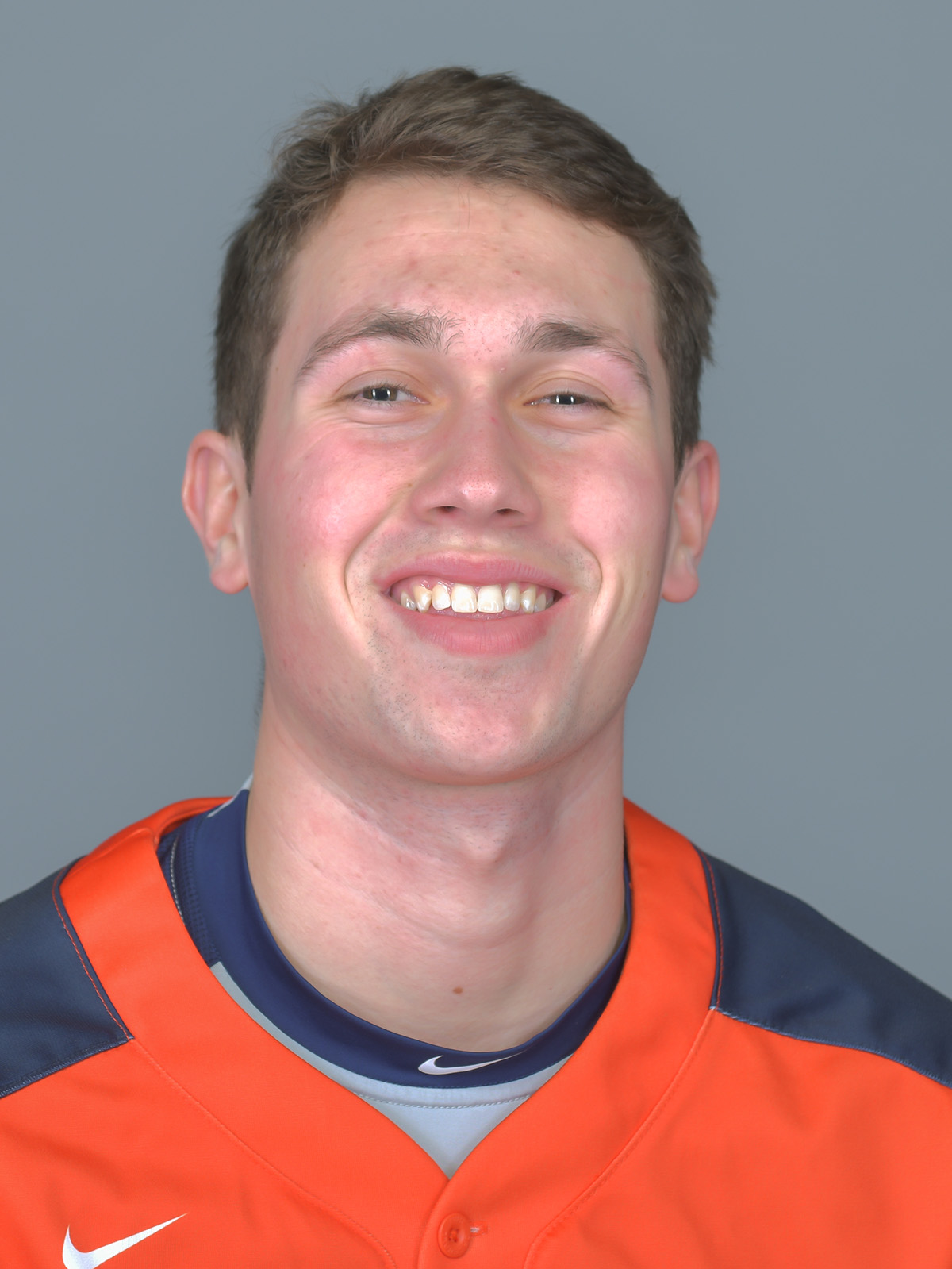 Evan Maday posing for a headshot