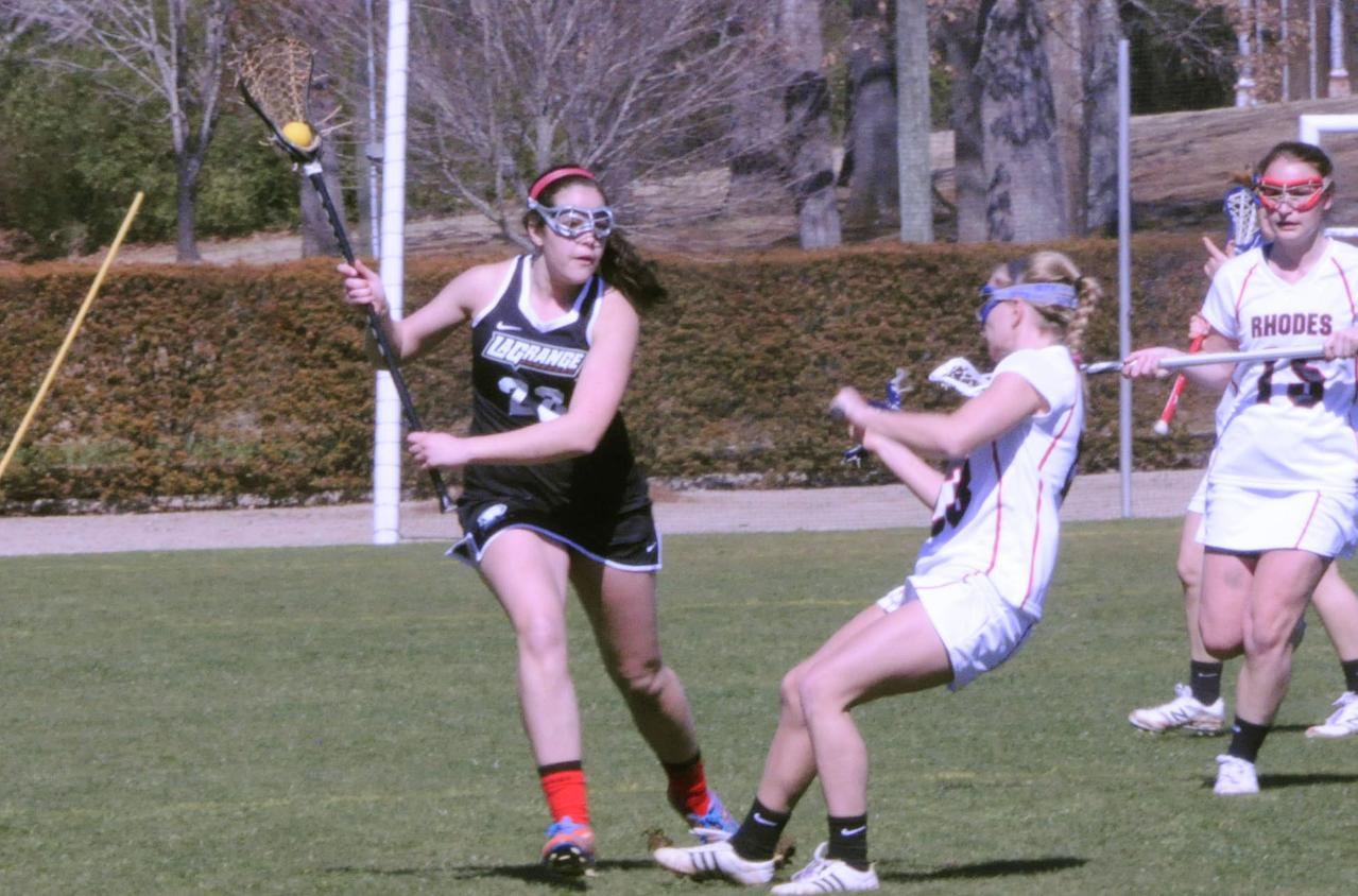 Lacrosse: Panthers battle Rhodes in 2014 season opener.