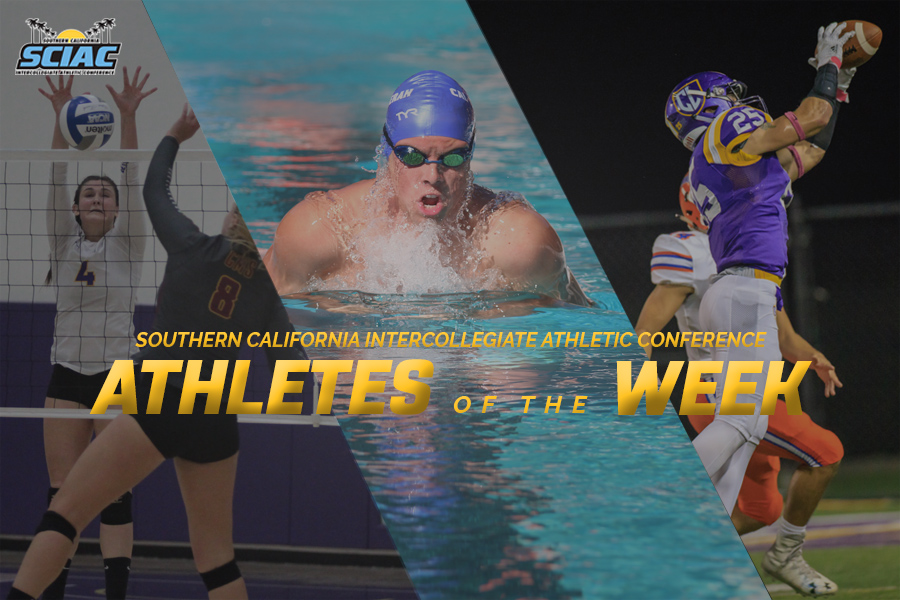 Roberts, Nybo, Lozano Named Athletes of the Week