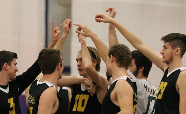 Men's Volleyball Swept by Wilson