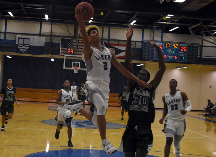 Lakeland rolls past Mercyhurst North East, 98-58