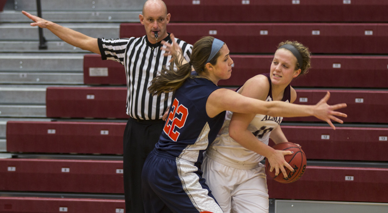 Alma Women's Basketball took on #2/#4 Hope College on Monday evening - lose 89-43