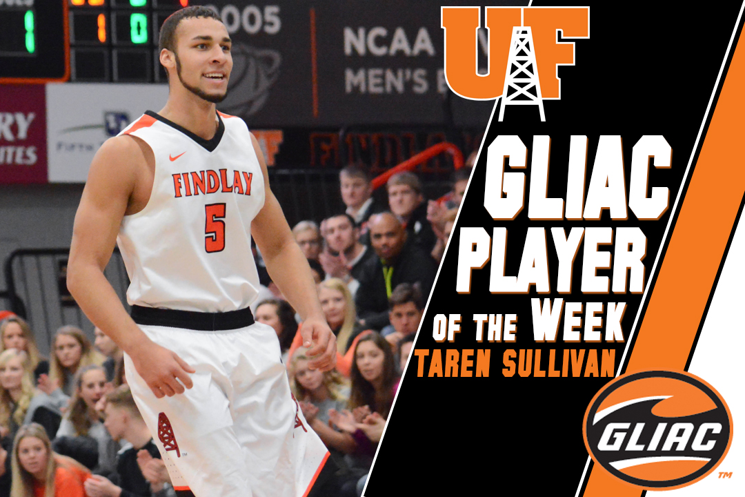 Sullivan Earns GLIAC Player of the Week for 4th Time