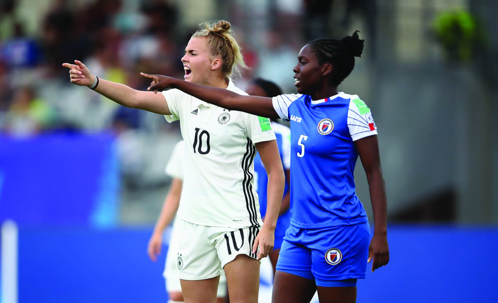 Danielle Darius Earns Second Start for Haiti in FIFA U-20 World Cup Group Stage Finale vs. Germany