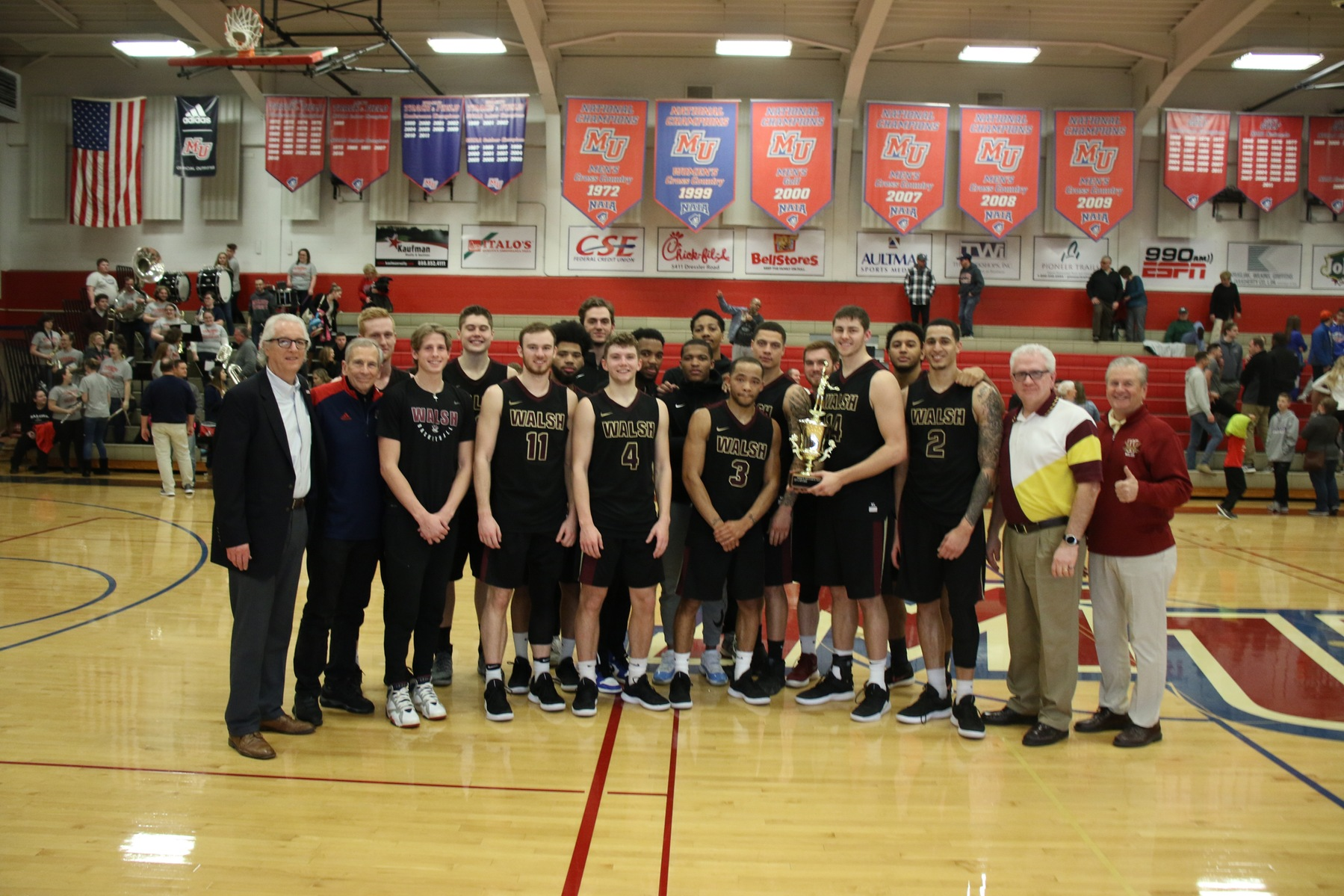 Walsh Sweeps Mayors' Cup Match-Ups