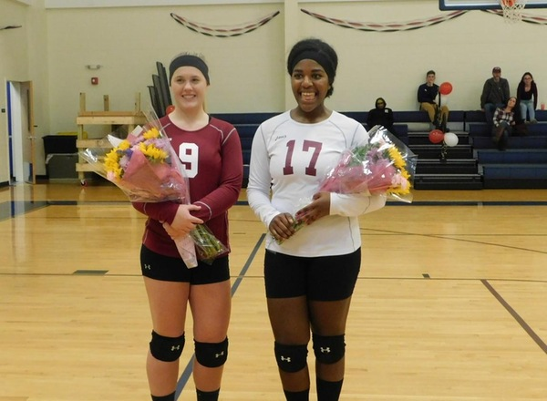 Bay Path defeats Lesley University in NECC Volleyball action