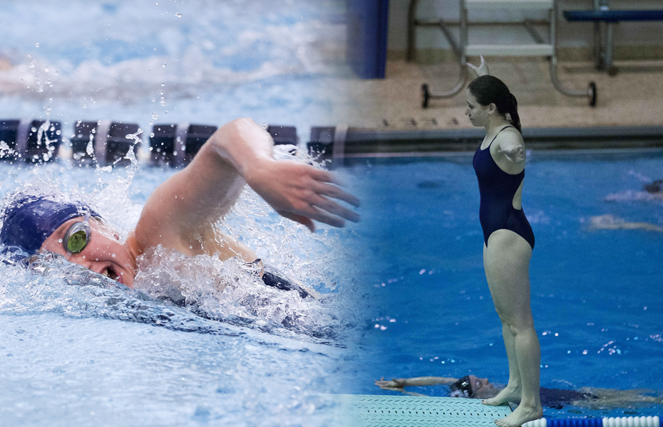 Geneseo's Nasky, Reichman honored as Women's Swimming and Diving Athletes of the Week