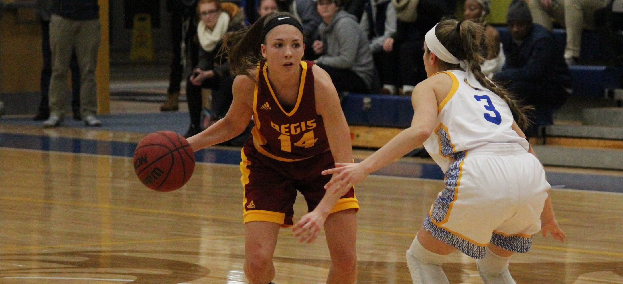Suffolk Comes from Behind to Beat Women's Basketball