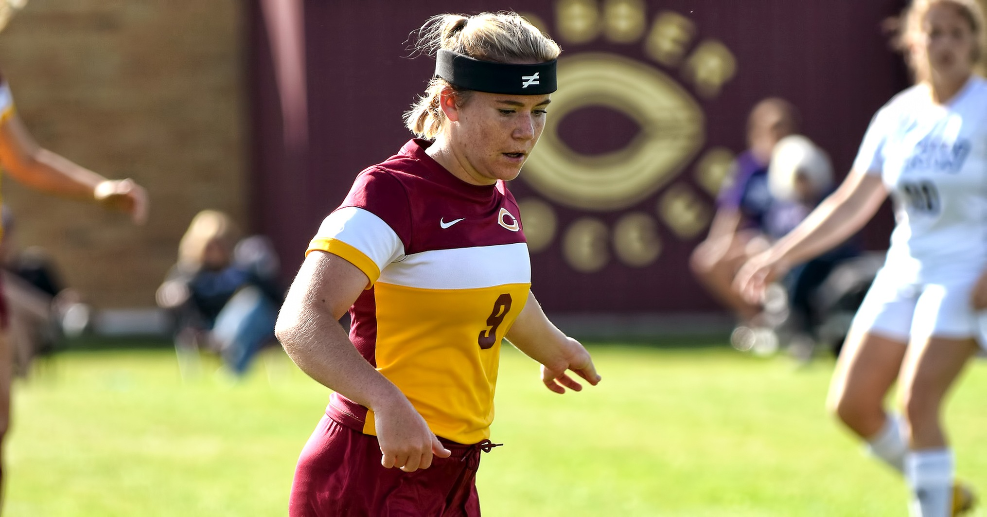 Freshman Grace Lawlor scored her first collegiate goal against Wis.-Superior. It was the game-winning score in the Cobbers' 3-0 win.