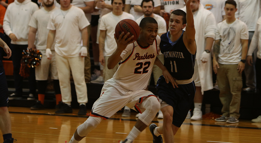 Men's basketball topped in SLIAC tournament championship