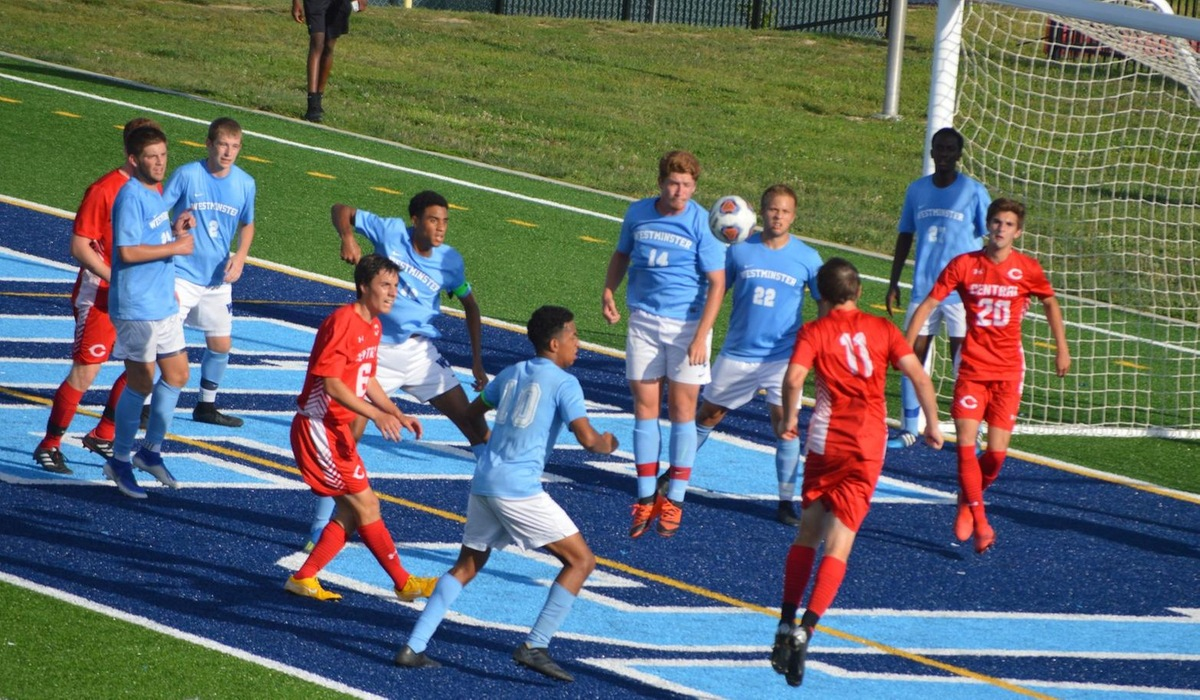 Westminster Men's Soccer Falls in Second Half to Central