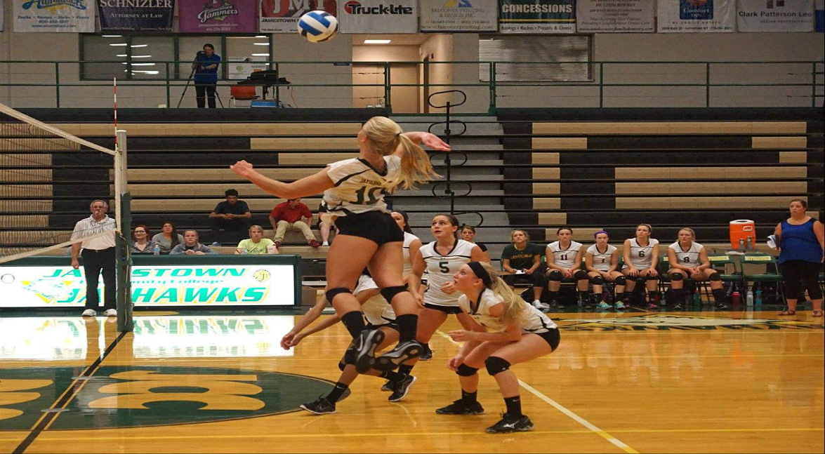 women's volleyball vs SUNY Broome CC (POD)