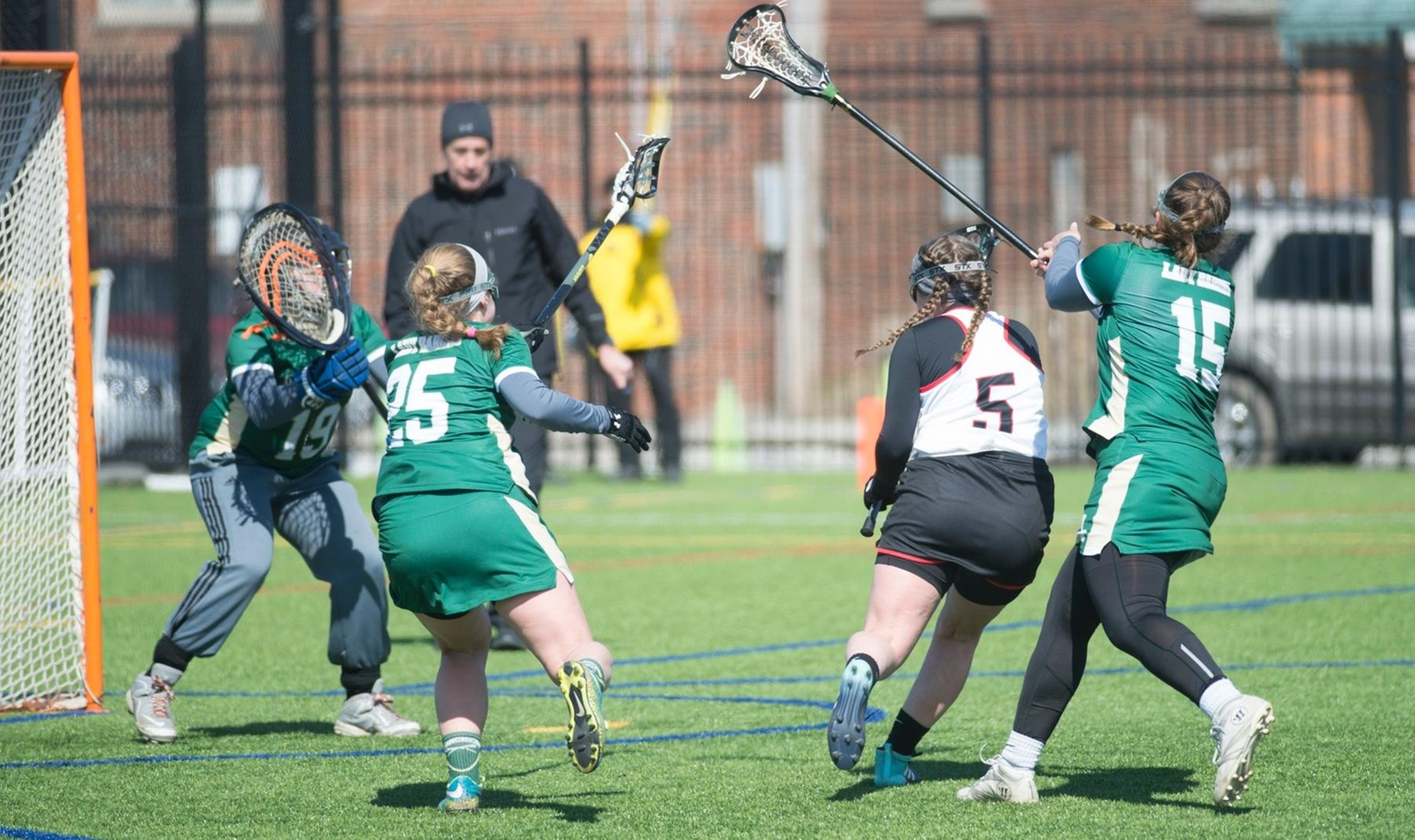 Team Offensive Effort Earns Lacrosse Second Win