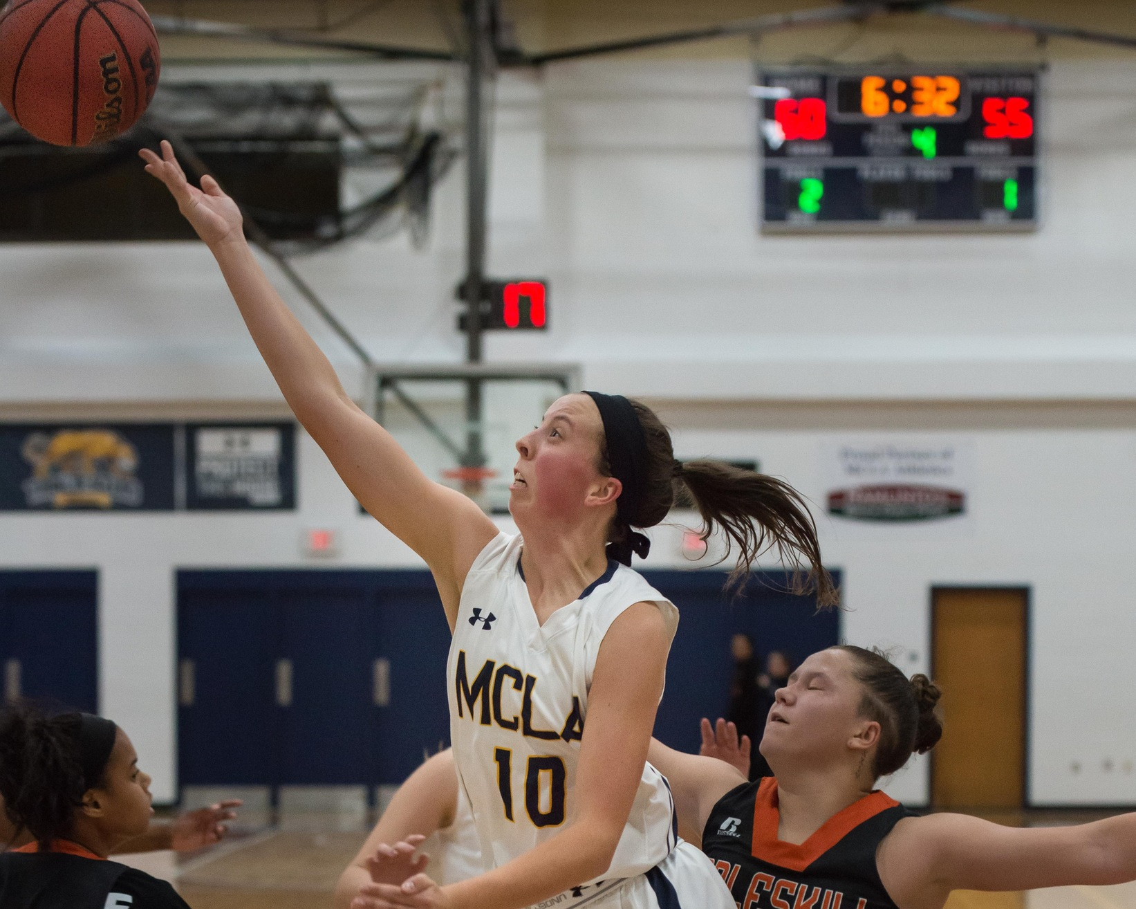 Trailblazer women suffer loss at Worcester State 67-48