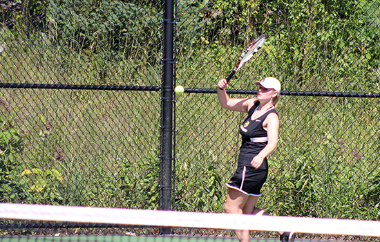 Women's Tennis Rallies Past Lesley