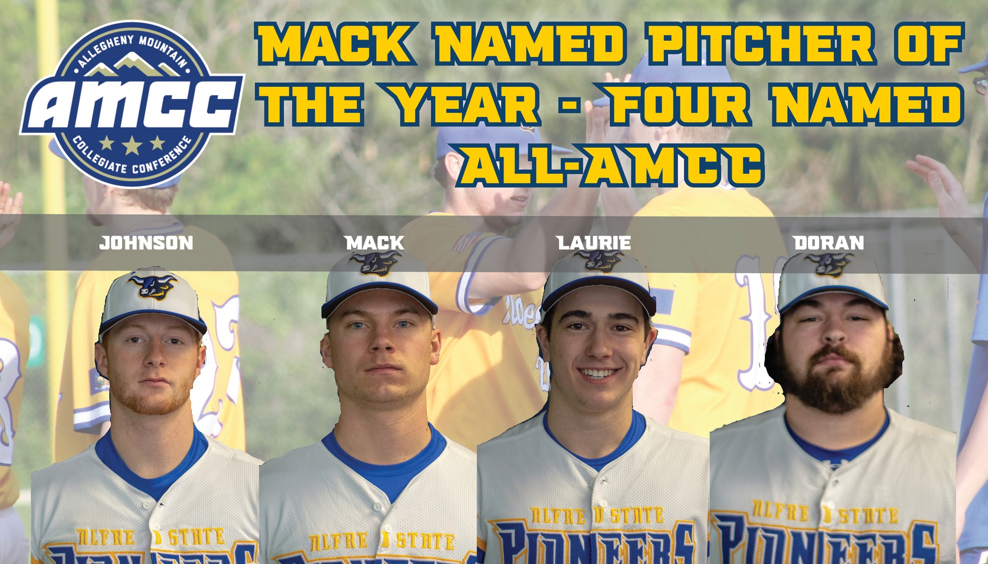 All-AMCC Baseball honorees