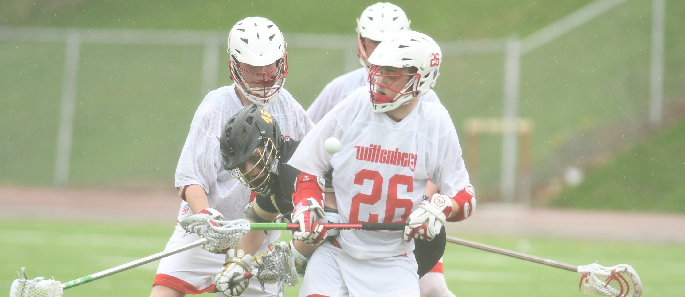 Men's Lacrosse Comes From Behind to Top Wooster 12-11