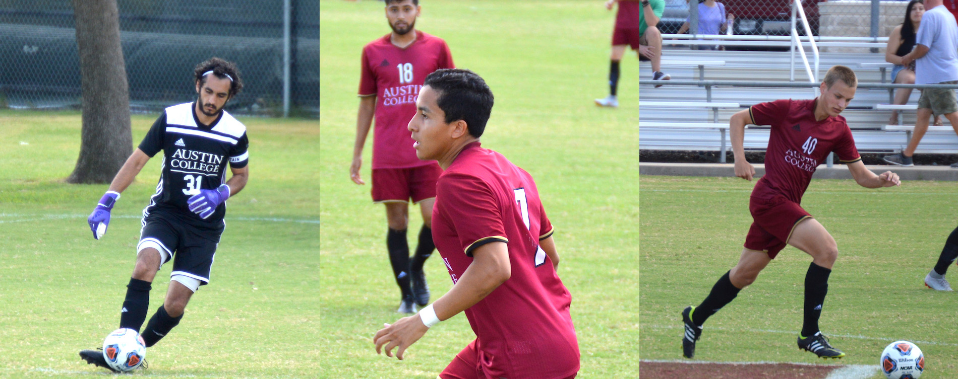 Three from Men's Soccer Earn All-SCAC