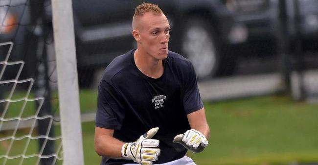 Pruchnik, Murphy Combine For Pair Of Saves As Men's Soccer Drops 2-0 Non-League Decision At Coast Guard