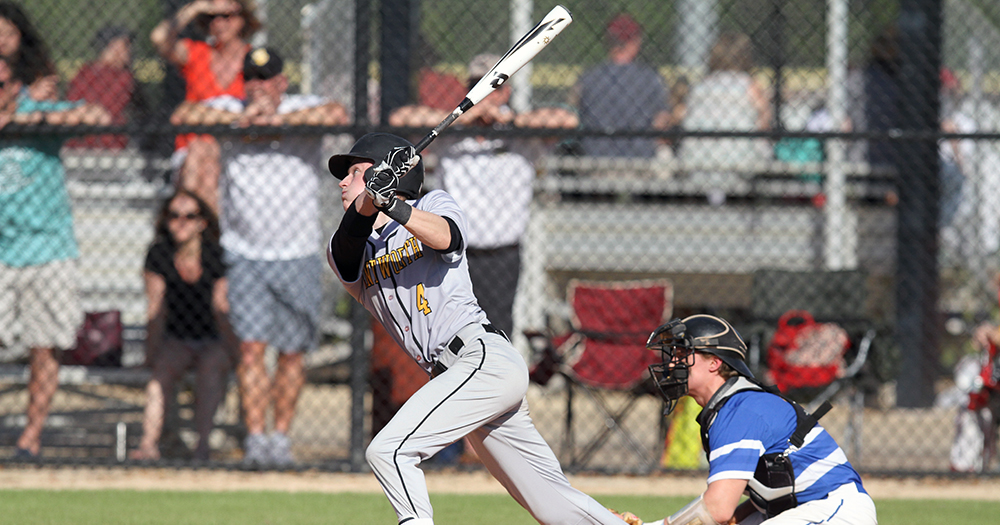 Baseball Falls Twice to Nichols