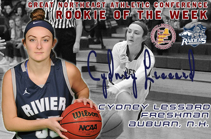 Women's Basketball: Lessard named GNAC Rookie of the Week