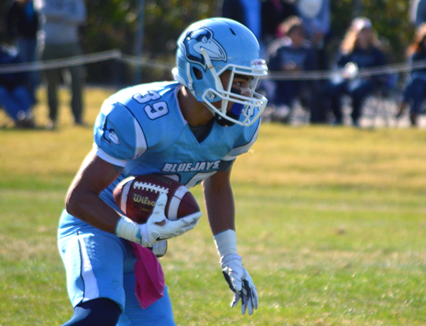 Blue Jays Roll Through Martin Luther With 61-7 Homecoming Win