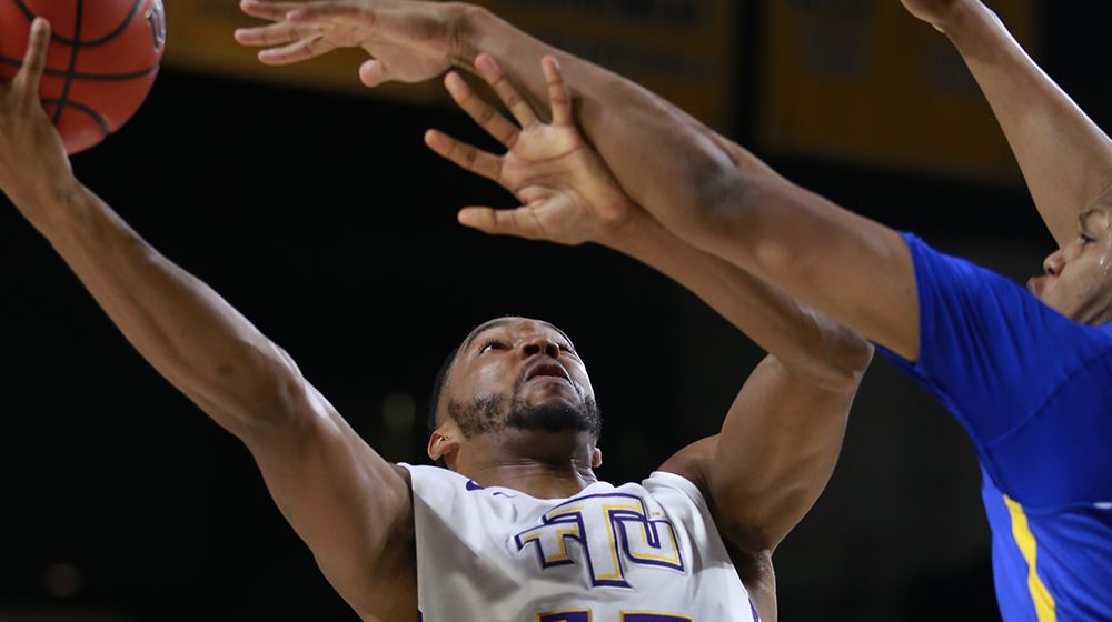 Phillips' late rebound, last-second bucket lifts Tech past Morehead State, 69-67