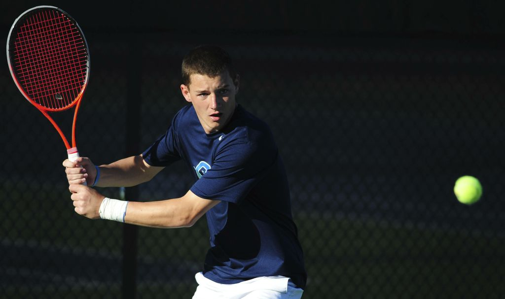 #18 Men's Tennis Sweeps Singles En Route to 8-1 win