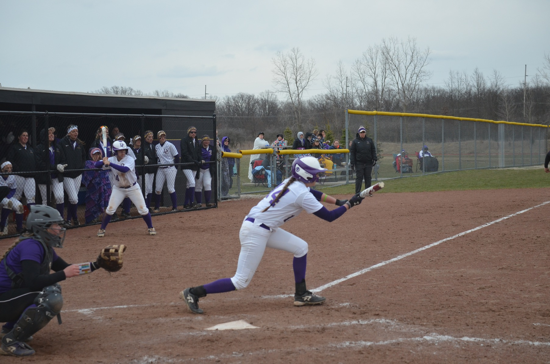 Softball Splits with Bluffton in HCAC Opener