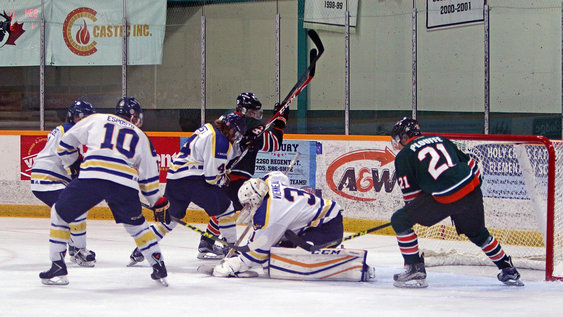 MHKY | Vees Third Period Collapse Leads to 6-3 Laurier Win