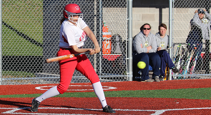 Wells Softball Sweeps Games From Morrisville