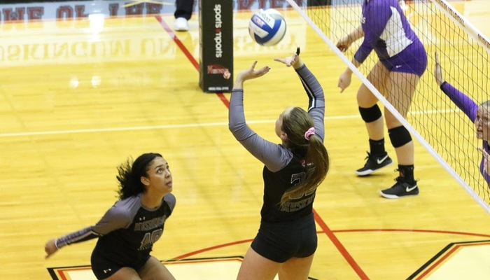 19th-ranked Volleyball stings Baldwin Wallace