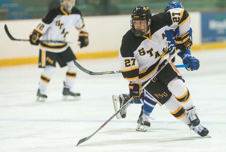 Hockey Falls in Semester Opener at Western New England