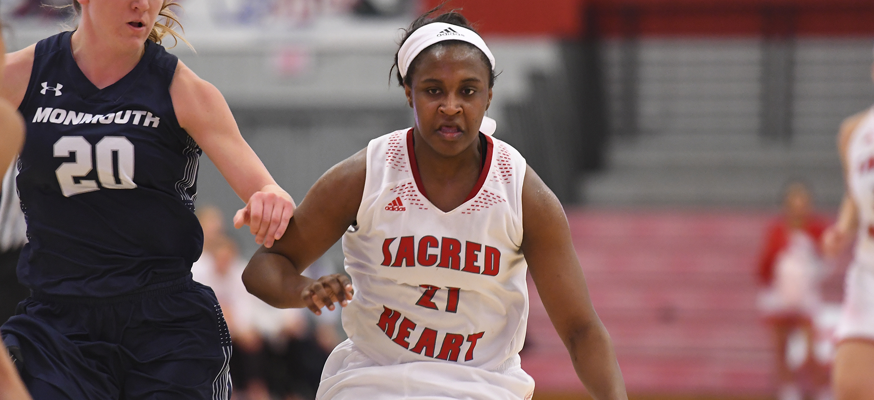 Candice Leatherwood scored 14 at home versus Stony Brook on Tuesday. (Credit: Steve McLaughlin)
