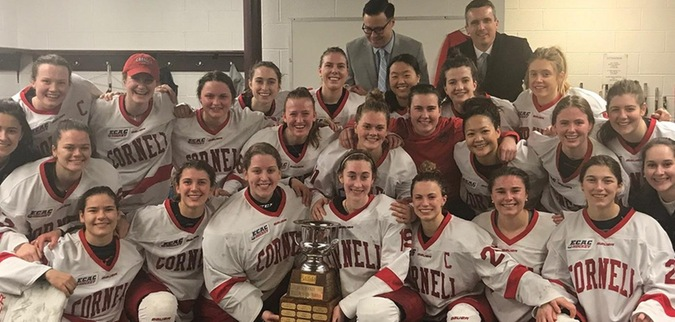 Cornell claims ECAC Hockey Regular Season Title in win over Union