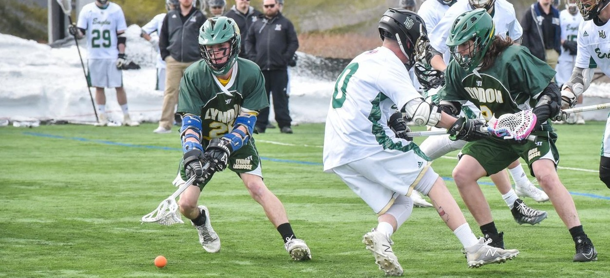 Hornet men come from behind for 13-7 win at Albertus Magnus