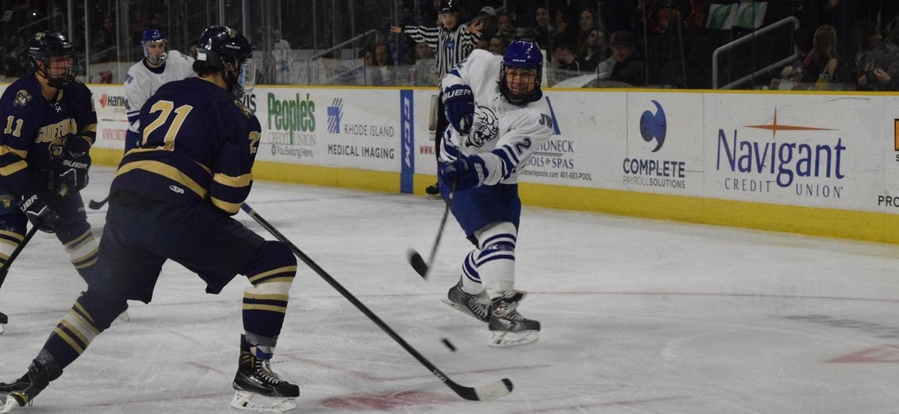 Men's Hockey Shutout at Western New England 2-0